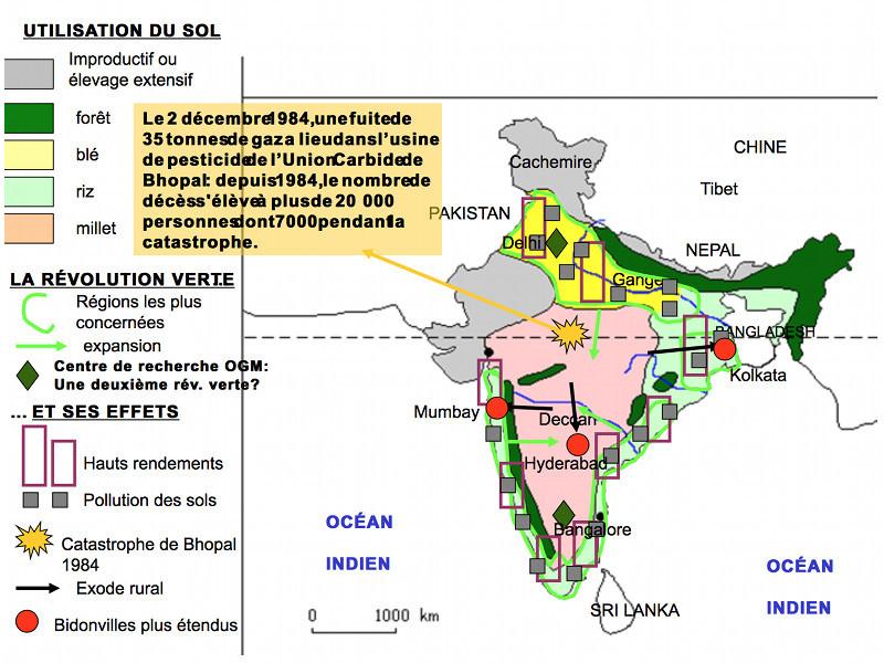 Carte Inde Agriculture.Les Defis De L Agriculture Indienne Face Au Changement